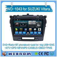 2016 for suzuki grand vitara car dvd gps navigation system radio car gps dvd player 10.1'' touch Bluetooth Rearview camera WIFI