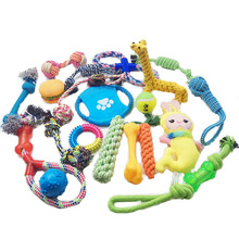 Multiple Types Creative Pet Variety Health Benefits Strong Chew Interactive Vinyl Cotton Rope Plush Latex TPR Dog Toy