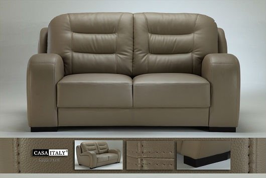Casa Italy Leather Sofa F 3179