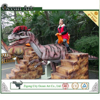 Amusement riding dino kids playing toy/Trade assurance