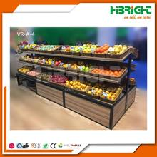 fruit and vegetable display cooler supermarket vegetable and fruit display shelf supermarket fruit stand rack