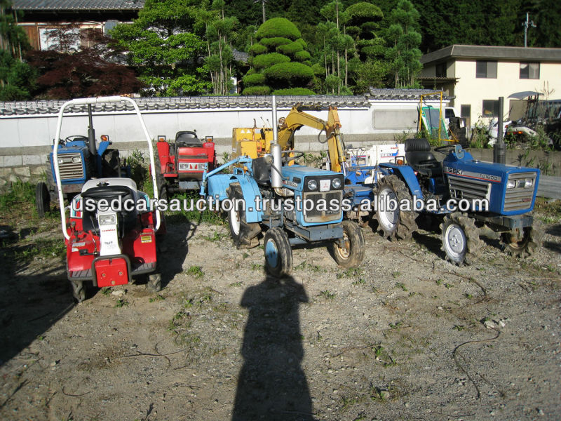 Used Farm Tractor in Japan