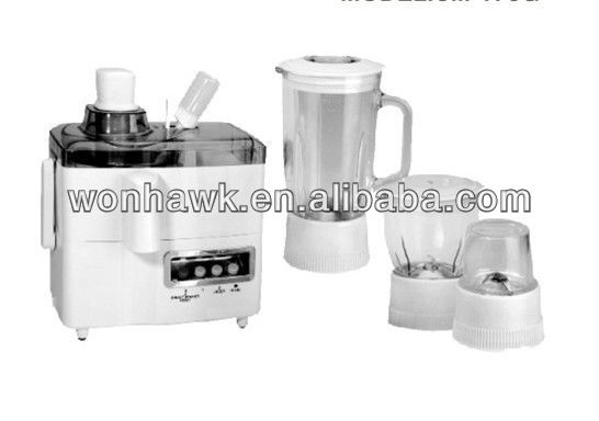 automatic home appliance electric mixer 4 in 1 blender