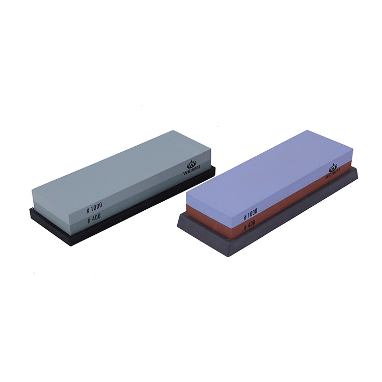 Main product two-sided sharpening stone with bamboo cuase whetstone