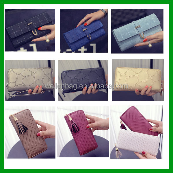 High Quality Factory direct women wallet and purse Waterproof Cheap leather wallet