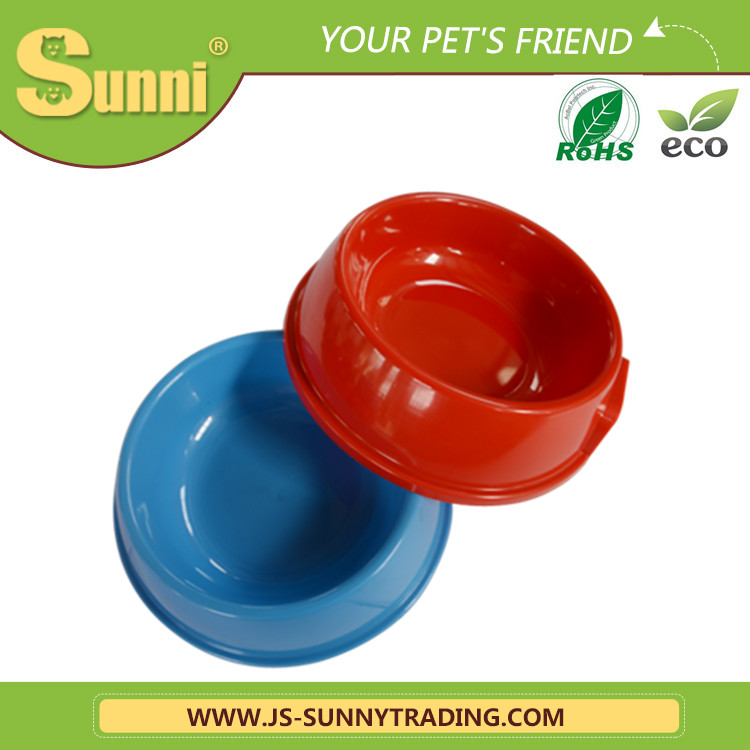 Plastic customized automatic magnetic feeder pet bowls for animals