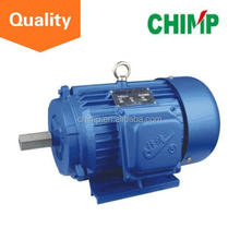 Y series 6pole 0.55KW ac induction cast iron three phase asychronoous electric motor