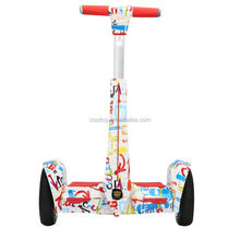 New products 2 big wheels electric chriot balance scooter with safe handle