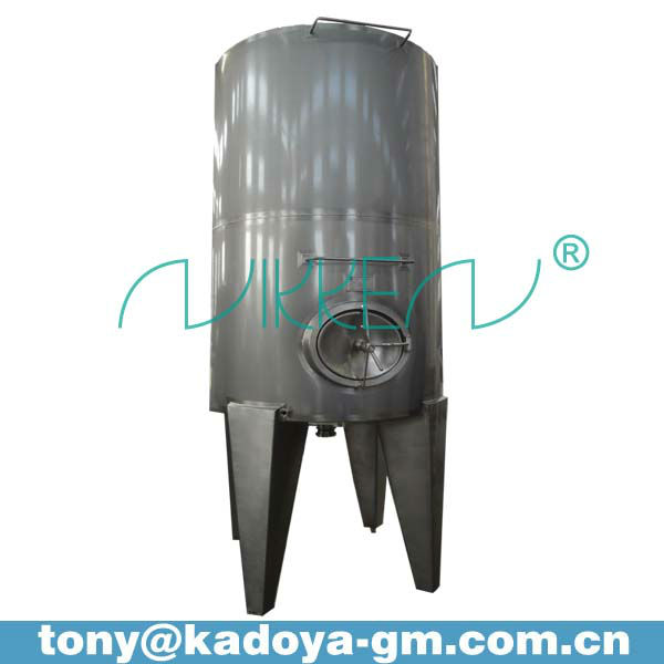4000L stainless steel cip chemical liquid vessel