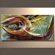 Handmade abstract oil painting for living room