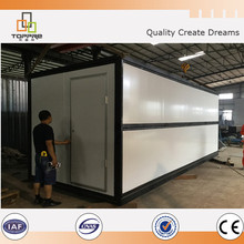 Sandwich Panel Steel Structure Folding Container House 20ft / 40 ft