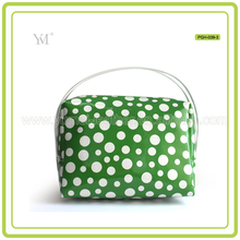 Customized Protable Dot Design Teens Large Toiletry Bag