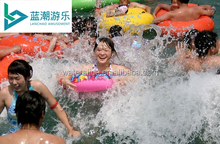Vacuum surf pool\wave pool tsunami wave pool for aqua park equipment