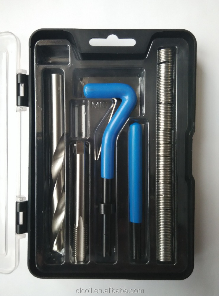 professional kit thread repair <strong>tool</strong> kit China supplier with lower price <strong>M10</strong> thread repair kit
