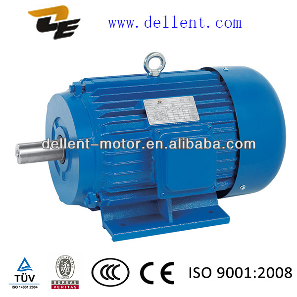Y series high efficiency 3 phase cast iron housing electric fan motor parts