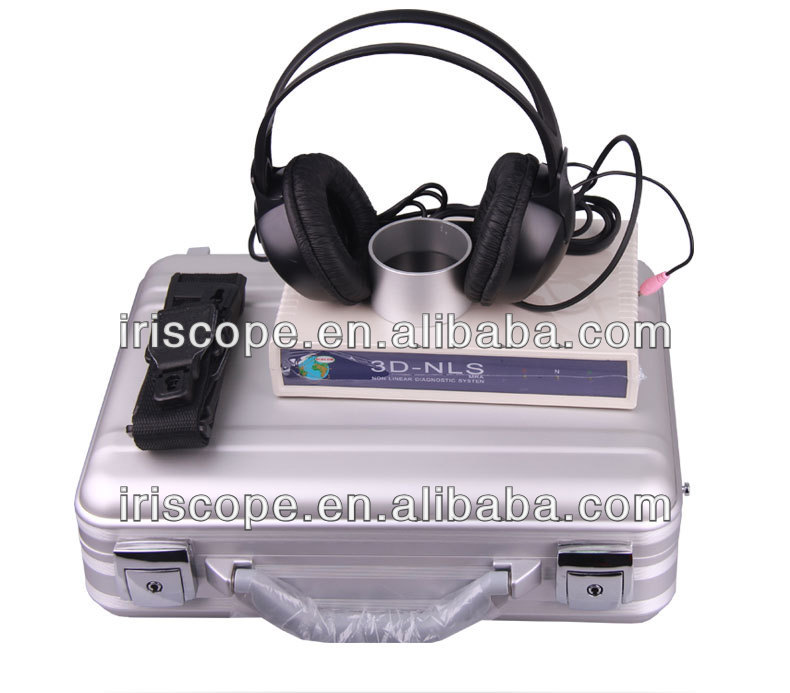 2015 Multi-language new 3d nls quantum biofeedback health analyzer machine