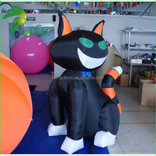 Inflatable cartoon cat for advertising / Inflatable animal