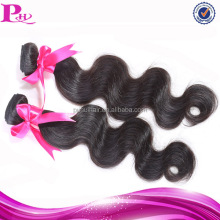 hot selling natural virgin malaysian body wave hair 2pcs
