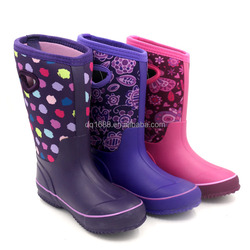 4MM Neoprene & Rubber 3 Colors Ladies Boots Keep Warm Winter Boots/Snow Boots Of The Burst Pattern