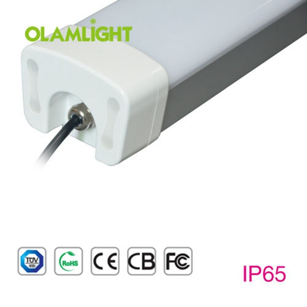 high quality IP65 IK10 Tri-proof LED Linear Light by ceiling hanging 30w 60cm