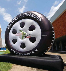inflatable model inflatable tyre display tyre model