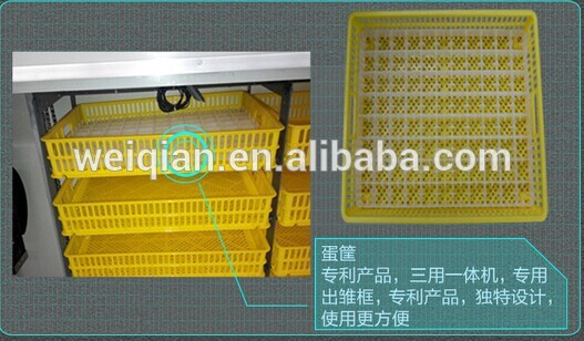 2014 Newest type cheap chicken egg incubator/incubator & hatcher all-in-one machine
