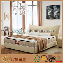 Popular Design Fashion Design Factory Bottom Price Box Spring Upholstered Bed