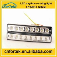China Electronic Auto Spare Parts Daytime Running Light E-MARK Led DRL for Santana FK-008H3