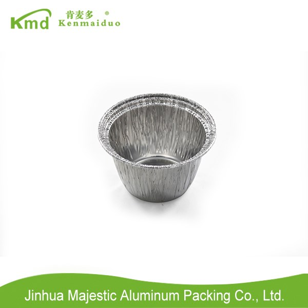2017 New Item Aluminium Foil Food Packing Round Container