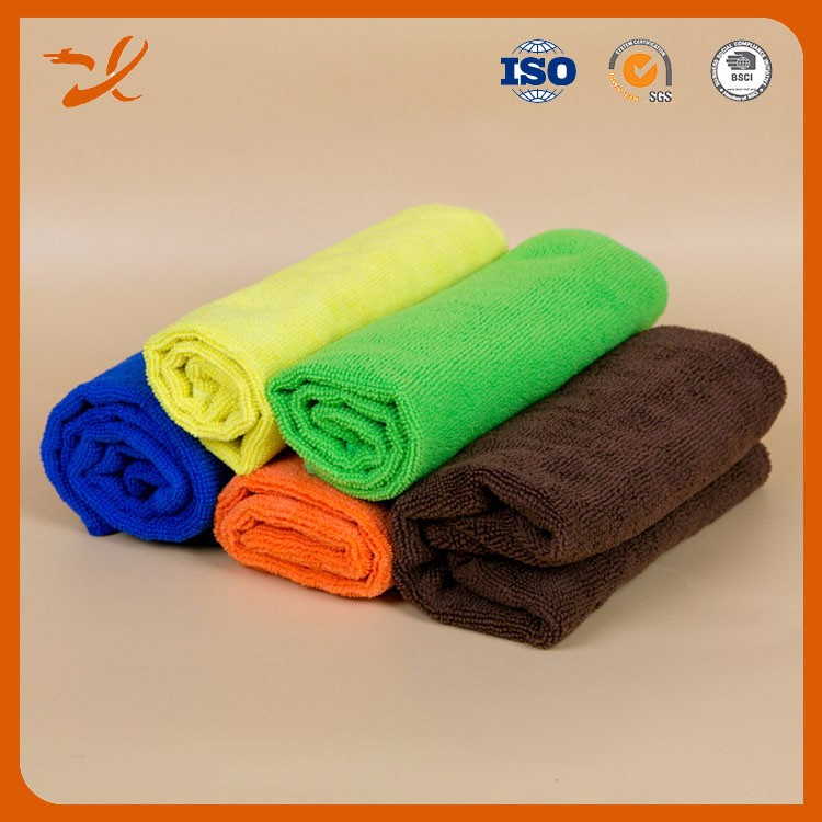 Thicken fluffy car polishing and buffing 500gsm microfiber cloth