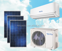 Solar Air Conditioner Split 24000btu/2 ton for Tropical area with 5 years warranty
