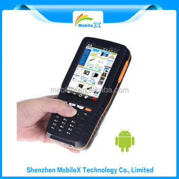 Ruggedized Android 4core 4 Inch Rfid Reader Mobile PDA Terminal (MX9900)