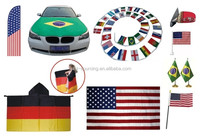 World national Supplier for all kinds of car promotion flag