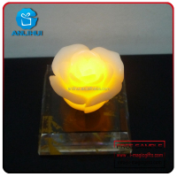 New style new decoration idea LED paraffin scented candle