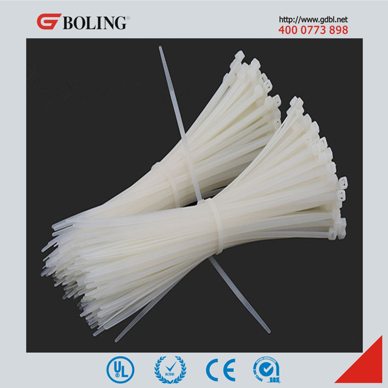 Self-locking Nylon cable ties, wire cable tie, CE UL REACH RoHS Certificate approved zip ties