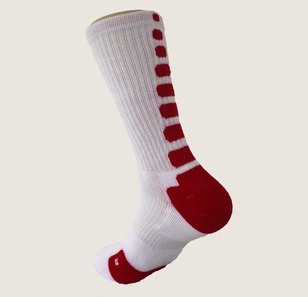 Colorful basketball sporty compression socks