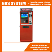Self Service Automatic Payment Kiosk for Parking Management