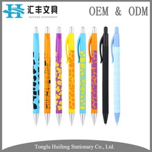 HF5908 hot sale new design recycle plastic ballpoint writing pen for kids