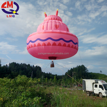 Trade assurance! Advertisement used 3 person inflatable hot air balloon price