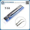 7-SA New Stainless Steel Industrial Tweezers watchmaker Repair Tools Excellent Quality