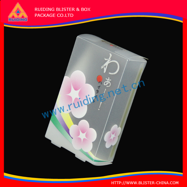professional design protable PVC Clear telephone plastic packaging with handle