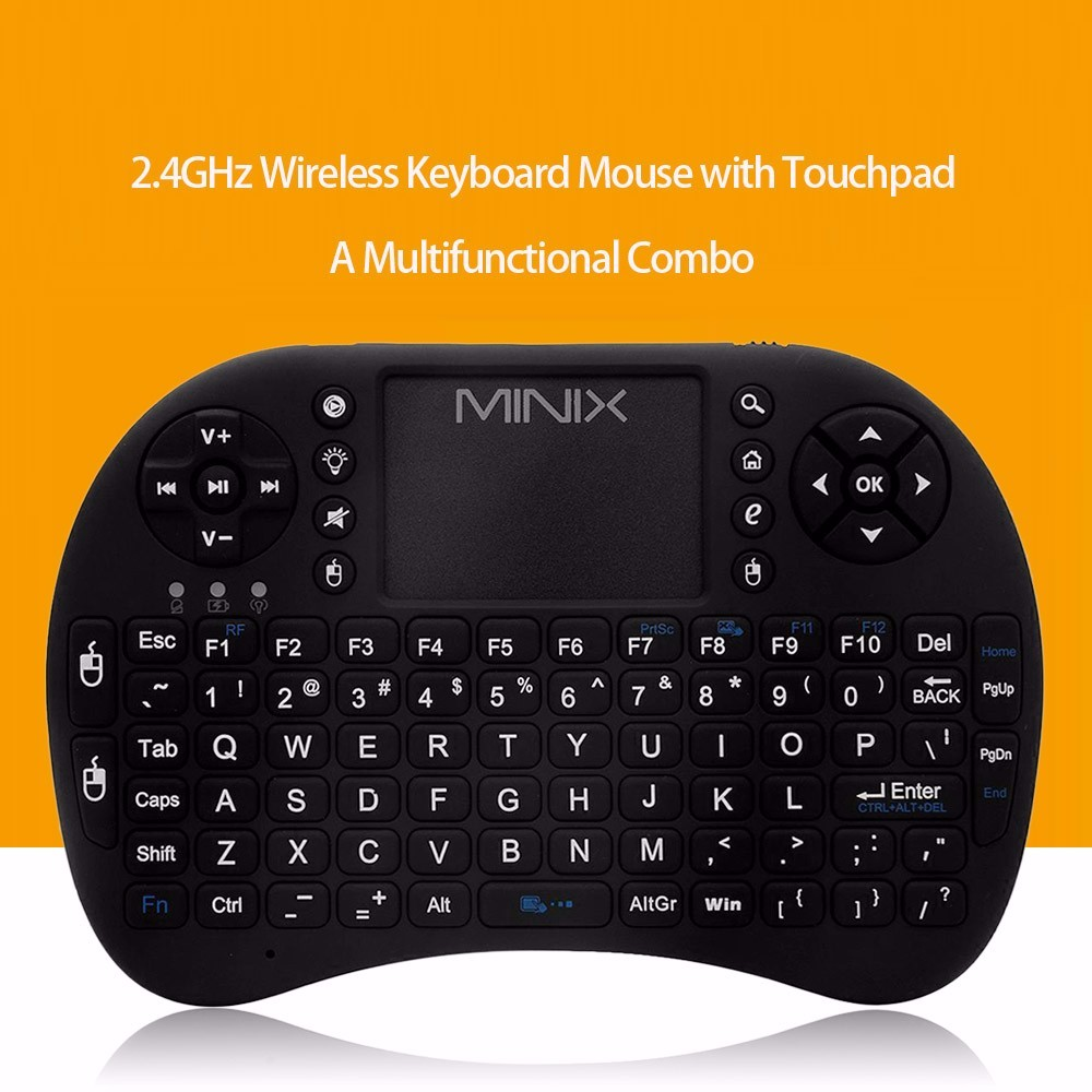 Dragonworth MINIX NEO K1 2.4G Wireless Keyboard Air Mouse Remote Touchpad Android TV BOX PC enough stock