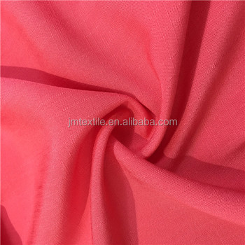 shaoxing jiema rayon spandex solid fabric custom patterns rayon lace fabric