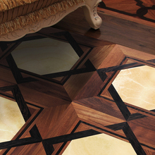 High Quality art parquet wood flooring