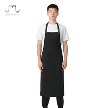 SMARTHAIR A251452B Promotional Custom Logo Cool Kitchen Mens Ladies Aprons Set
