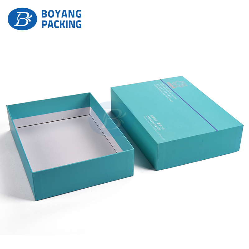 High quality Eco-friendly Custom printed empty paper cosmetic packaging box