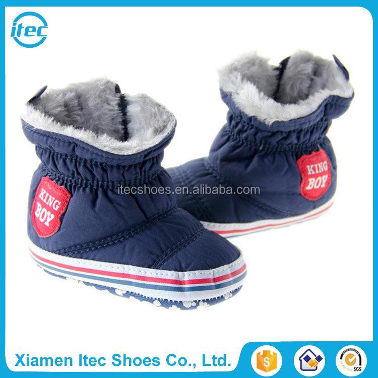 venta al por mayor orgnica botines zapatos tejido sherpa fleece superior forro de suela blanda recin