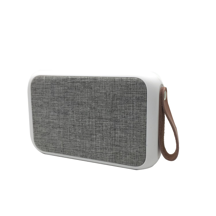 Elegant fabric design loud voice mp3 Bluetooth <strong>speaker</strong>