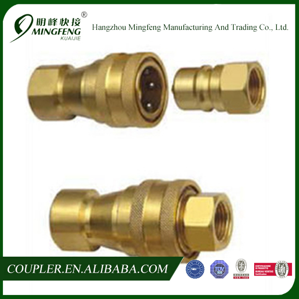 "Professional quick joint cheap 1/4"" bsp thread fittings"