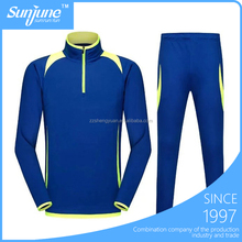 OEM foobtall jacket and pants breathable soccer training tracksuit